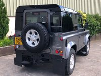 USED 2015 15 LAND ROVER DEFENDER 90 2.2 TD HARD TOP 2d 122 BHP NO VAT!! AIRCON, BLACK GLOSS ROOF, ALLOYS, PANORAMIC GLASS