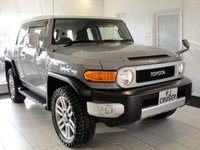 USED 2015 65 TOYOTA LAND CRUISER DID YOU KNOW YOU CAN BUY FJ CRUISERS IN THE UK NOW? Production of the Iconic FJ Cruiser has recently stopped in Japan and hence values are on the rise. VAT Qualifying.