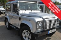 USED 2014 14 LAND ROVER DEFENDER 2.2 TD XS STATION WAGON 3d 122 BHP