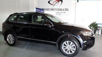 2011 VOLKSWAGEN TOUAREG 3.0 V6 SE TDI BLUEMOTION TECHNOLOGY 5d AUTO 202 BHP £9995.00