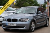 USED 2007 57 BMW 1 SERIES 2.0 120I SE 5d 168 BHP 3 MONTHS AA WARRANTY INCLUDED