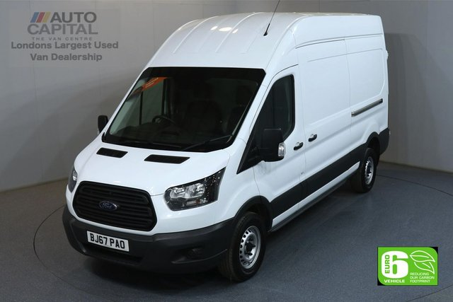 2017 67 FORD TRANSIT 2.0 350 L3 H3 LWB HIGH ROOF 129 BHP EURO 6 OWNER FROM NEW, SPARE KEY, EURO 6