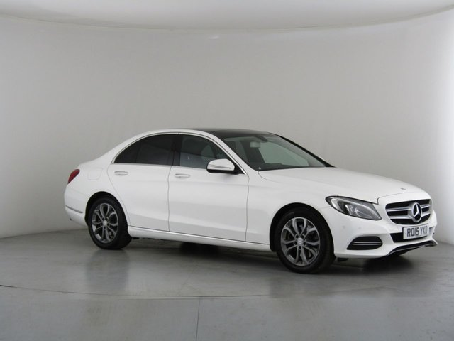 View our 2015 15 MERCEDES-BENZ C-CLASS 2.1 C300 BLUETEC HYBRID SPORT PREMIUM 4d AUTO 204 BHP