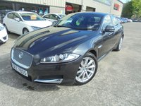 USED 2013 JAGUAR XF 2.2 D PREMIUM LUXURY 4d AUTO 200 BHP Superb Condition, FSH, No Deposit Needed, Part Exchange Welcomed