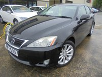 USED 2009 LEXUS IS 2.2 220D SE 4d 175 BHP Luxury Japanese Badge, Excellent Condition