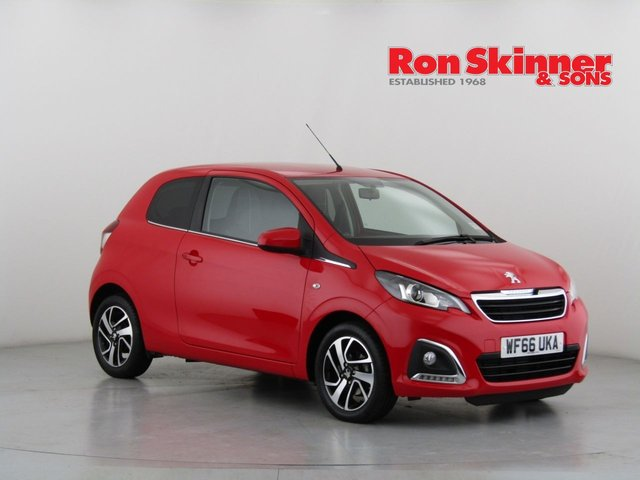View our 2016 66 PEUGEOT 108 1.2 PURETECH ALLURE 3d 82 BHP