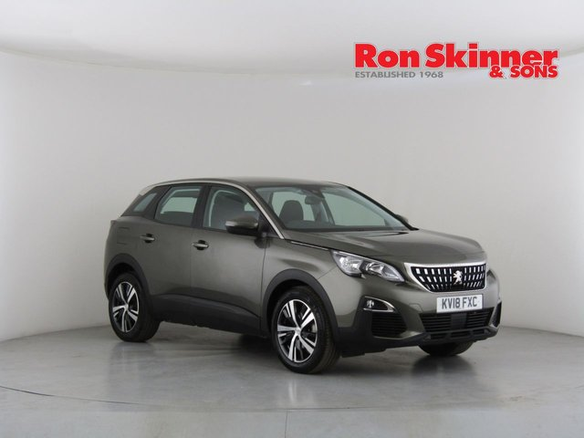 View our 2018 18 PEUGEOT 3008 1.6 BLUEHDI S/S ACTIVE 5d 120 BHP