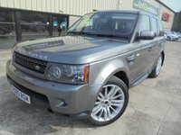 USED 2011 LAND ROVER RANGE ROVER SPORT 3.0 TDV6 HSE 5d AUTO 245 BHP Super condition, No Fee Finance and No Deposit Necessary