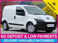 USED 2014 14 PEUGEOT BIPPER 1.3 HDI PROFESSIONAL EURO 5 COMPLIANT 74+ MPG LOW MILEAGE PLYWOOD-LINED USB INPUT SLIDING SIDE DOOR