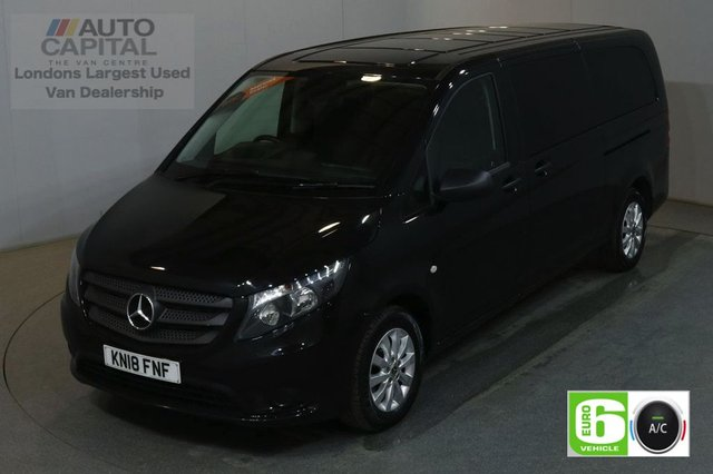2018 18 MERCEDES-BENZ VITO 2.1 114 BLUETEC TOURER SELECT 136 BHP EXTRA LWB EURO 6 AIR CON 9 SEATER £25,490+VAT EURO 6 AIR CONDITIONING