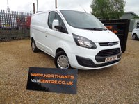 2015 FORD TRANSIT CUSTOM 2.2 290 LOW ROOF SWB 5d 100 BHP £7990.00