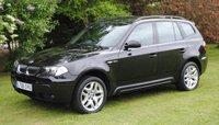 2006 BMW X3 3.0 D M SPORT 5d AUTO 215 BHP £4495.00