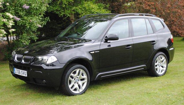 2006 06 BMW X3 3.0 D M SPORT 5d AUTO 215 BHP