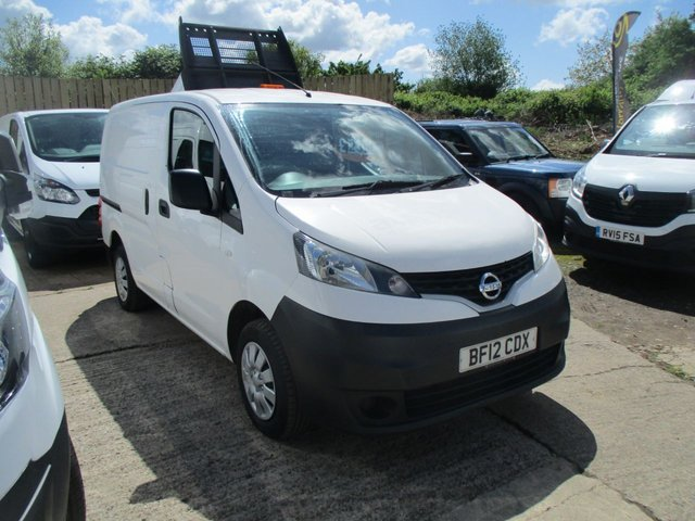 2012 12 NISSAN NV200 1.5 TURBO DIESEL CHEAP VAN DCI 90 BHP NO VAT TO PAY MANUAL WHITE