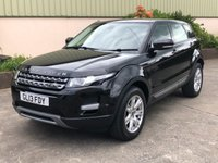 USED 2013 13 LAND ROVER RANGE ROVER EVOQUE 2.2 SD4 PURE TECH 5d AUTO 190 BHP PANORAMIC ROOF, HEATED SEATS, REVERSE SENSORS