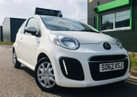 2012 CITROEN C1 1.0 VTR 3 DOOR HATCH LOW MILES with zero road tax £3795.00