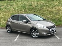 USED 2014 14 PEUGEOT 208 1.6 ALLURE 5d AUTO 120 BHP ONE OWNER, FULL SERVICE HISTORY