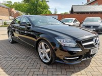 USED 2014 14 MERCEDES-BENZ CLS CLASS 2.1 CLS250 CDI BLUEEFFICIENCY AMG SPORT 4d AUTO 204 BHP FSH+NAV+PHONE+HEATED LEATHER