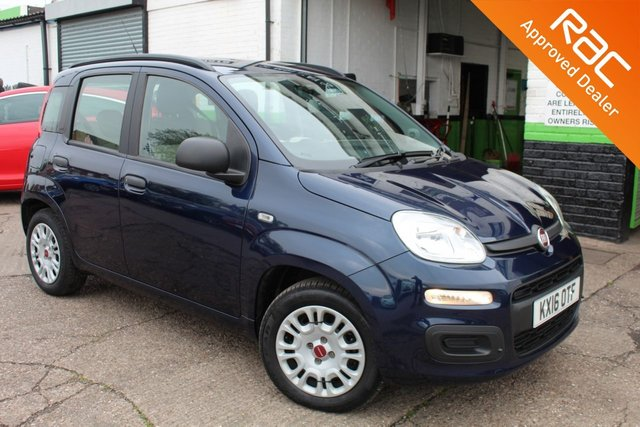 USED 2016 16 FIAT PANDA 1.2 EASY 5d 69 BHP VIEW AND RESERVE ONLINE OR CALL 01527-853940 FOR MORE INFO.