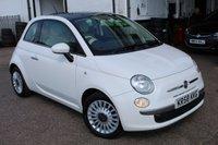 2009 FIAT 500 1.2 LOUNGE 3d 69 BHP £3500.00