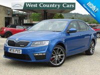 USED 2015 15 SKODA OCTAVIA 2.0 VRS TDI CR DSG 5d AUTO 181 BHP Only 2 Owners From New