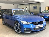 USED 2018 18 BMW 3 SERIES  320I M SPORT SHADOW EDITION 4d AUTO 181 BHP M PERFORMANCE STYLING+BIG SPEC