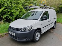 2013 VOLKSWAGEN CADDY MAXI 1.6 C20 TDI BLUEMOTION TECH 5d 102 BHP AIR CON SAT NAV £5250.00