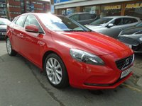 USED 2015 65 VOLVO V40 2.0 D4 SE LUX NAV 5d AUTO 188 BHP ONLY 24,000 MILES!