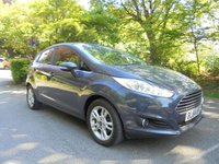USED 2014 64 FORD FIESTA 1.2 ZETEC 5d 81 BHP SUPPLIED WITH 12 MONTHS MOT