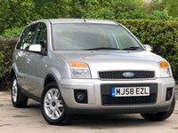 2008 FORD FUSION 1.4 ZETEC CLIMATE 5d 78 BHP £4295.00