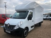 USED 2016 66 RENAULT MASTER 2.3 LL35 BUSINESS DCI L/R C/C 1d 125 BHP LUTON CHOICE OF 2 IN STOCK * 62000 MILES ONE OWNER FROM NEW *