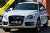 USED 2015 15 AUDI Q5 2.0 TDI QUATTRO S LINE PLUS START/STOP 5d 148 BHP SATELLITE NAVIGATION HEATED FRONT SEATS AUTO TAILGATE