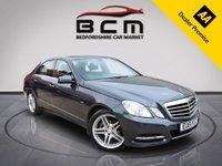 2011 MERCEDES-BENZ E CLASS 2.1 E220 CDI BLUEEFFICIENCY EXECUTIVE SE 4d AUTO 170 BHP £7761.00