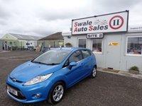 USED 2011 11 FORD FIESTA 1.4 ZETEC TDCI 5 DOOR 69 BHP £24 PER WEEK, NO DEPOSIT - SEE FINANCE LINK
