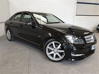 USED 2012 12 MERCEDES-BENZ C CLASS 2.1 C220 CDI BLUEEFFICIENCY SPORT 4d AUTO 168 BHP SALOON