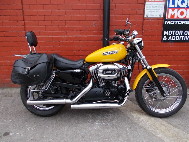 USED 2007 HARLEY-DAVIDSON XL 1200 LOW SPORTSTER *Low Mileage, Nice Extras* A Cracking 1200cc Cruiser ! Fully loaded for touring.