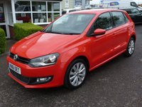 USED 2011 61 VOLKSWAGEN POLO 1.6 SEL TDI 5d 89 BHP FLASH RED 1.6 TDI 90 5 door VW Polo SEL, 54K FSH, Recent cam belt change, Long MOT. Fantastic condition.