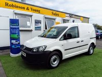 2014 VOLKSWAGEN CADDY 1.6 C20 TDI STARTLINE BLUEMOTION TECHNOLOGY 1d 101 BHP £6495.00
