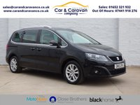 USED 2013 13 SEAT ALHAMBRA 2.0 TDI CR SE LUX 5d 177 BHP One Owner Full Service History Buy Now, Pay Later Finance!