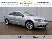 USED 2013 13 VOLKSWAGEN CC 2.0 GT TDI BLUEMOTION TECHNOLOGY DSG 4d AUTO 175 BHP Full Service History Huge Spec Buy Now, Pay Later Finance!