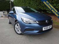 USED 2016 66 VAUXHALL ASTRA 1.6 DESIGN CDTI TOURER  5d 108 BHP