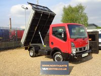 USED 2016 66 NISSAN NT400 CABSTAR 2.5 DCI 35.14 TIPPER 2d 136 BHP SWB