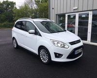 USED 2012 62 FORD GRAND C-MAX 1.6 TITANIUM ECOBOOST 150 BHP THIS VEHICLE IS AT SITE 1 - TO VIEW CALL US ON 01903 892224