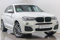 USED 2016 65 BMW X4 3.0 XDRIVE30D M SPORT 4d AUTO 255 BHP