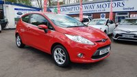 USED 2012 12 FORD FIESTA 1.2 ZETEC 3d 81 BHP 0%  FINANCE AVAILABLE ON THIS CAR PLEASE CALL 01204 393 181