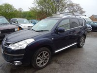2010 CITROEN C-CROSSER 2.2 EXCLUSIVE HDI 5d 154 BHP £3995.00