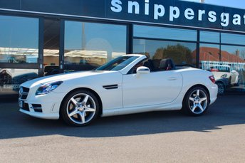2013 MERCEDES-BENZ SLK 2.1 SLK250 CDI BLUEEFFICIENCY AMG SPORT 2d AUTO 204 BHP £11500.00