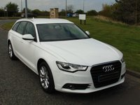USED 2014 14 AUDI A6 2.0 AVANT TDI SE 5d 175 BHP SAT NAV, DAB RADIO, LEATHER