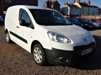 USED 2014 14 PEUGEOT PARTNER 1.6 HDI S L1 850 1d 89 BHP FULL SERVICE HISTORY 9 STAMPS