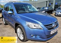 USED 2010 60 VOLKSWAGEN TIGUAN 2.0 SPORT TDI 4MOTION 5d 138 BHP SERVICE HSITORY 1 PREV KEEPER COLOUR SCREEN SAT NAV